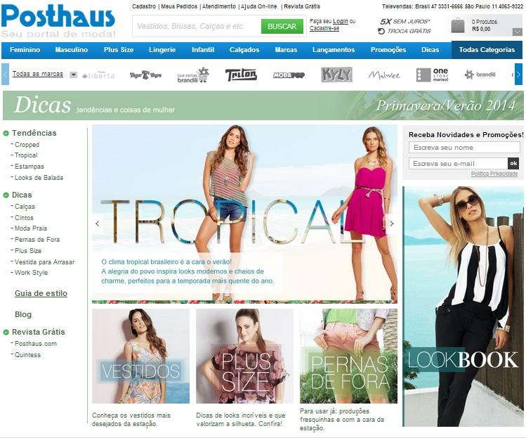 af9912a0f O portal vende produtos das categorias de Moda Feminina